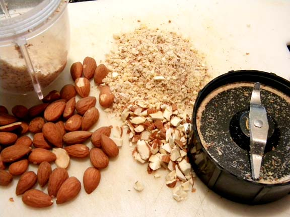 Grinding Almonds with the Magic Bullet
