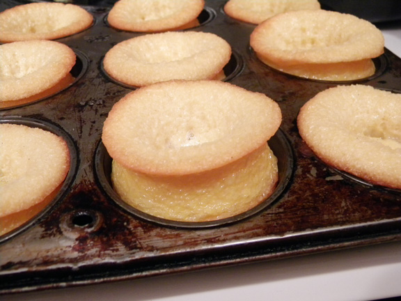 Puffed Shortcakes