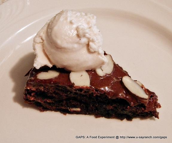 Starlene Chocolate Polka Dot Cake