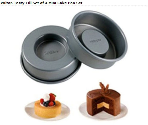 Wilton Tasty Fill Mini Cake Set