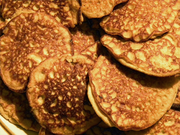 Squash and Peanut Butter Pancakes