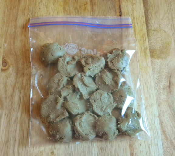 Chicken Liver Paté in Tablespoon portions