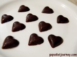 Bite Size GAPS Legal Chocolate Hearts