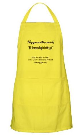 GAPS Apron Lemon Yellow