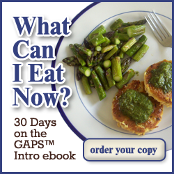 What Can I Eat Now - 30 Day on the GAPS Intro ebook