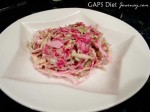 Ruby Red Sauerkraut Cole Slaw