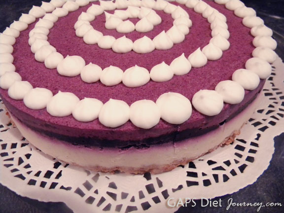 The Blueberry Cheesecake Masterpiece
