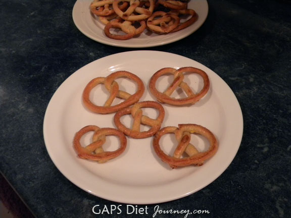 Gluten Free and Grain Free Pretzels