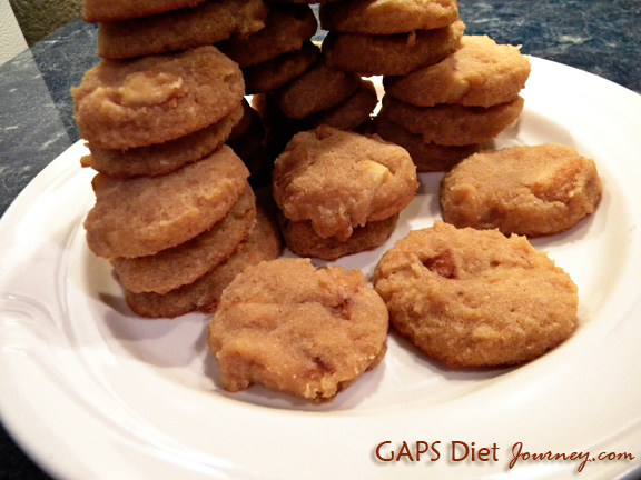Apple Pie Medallions Coconut Cookies