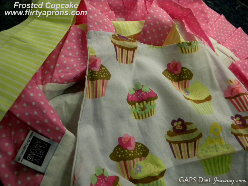 Flirty Aprons Frosted Cupcake