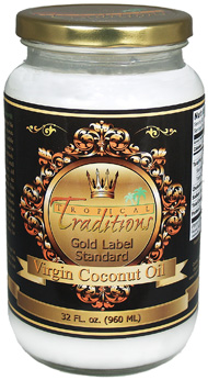 Tropical Traditions Gold Label Coconut Oil