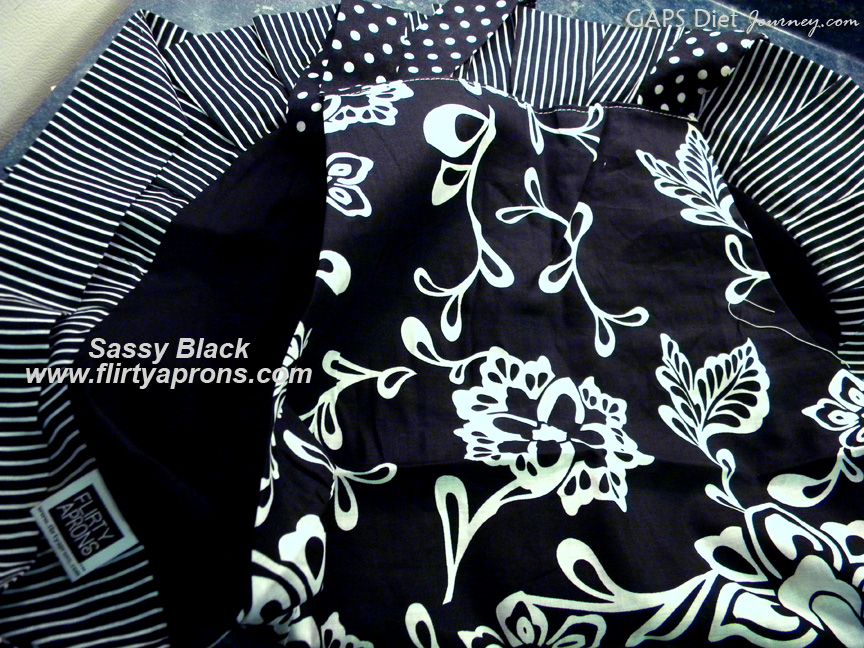 Flirty Aprons Sassy Black