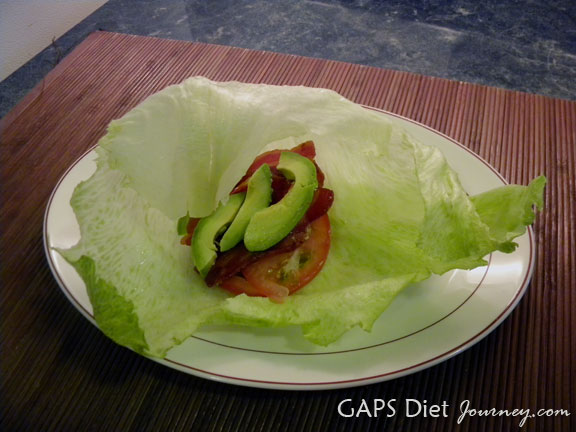 Bacon, Lettuce, Tomato and Avocado Sandwich