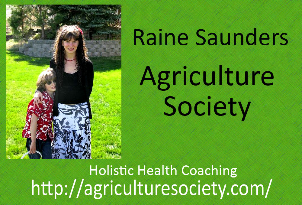 Raine Saunders from Agriculture Society