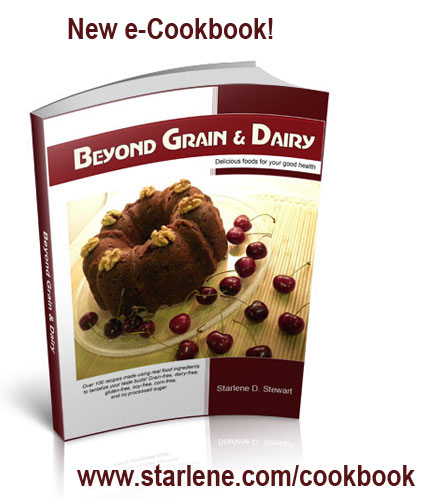 New e-cookbook Beyond Grain & Dairy