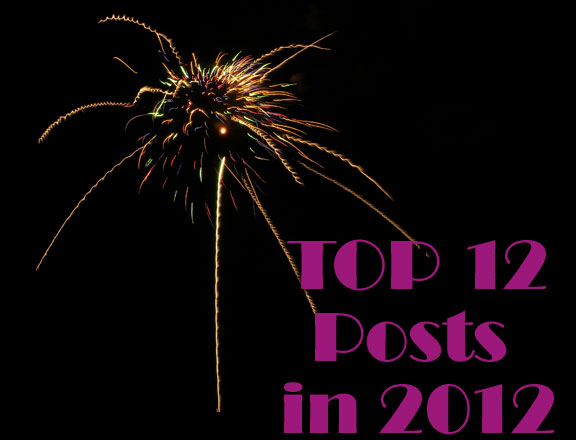 Top 12 Posts in 2012