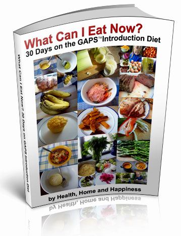 Click here to learn more about What Can I Eat on GAPS intro