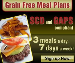 Grain Free Menu Plans