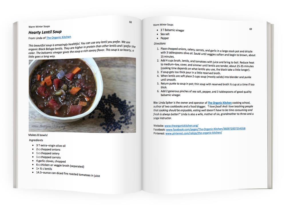Winter Soups Hearty Lentil Soup