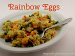 Rainbow Scrambled Eggs