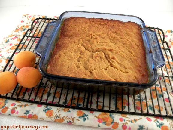 Apricot Sponge Pudding