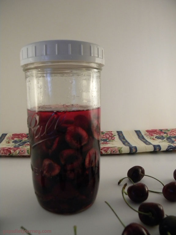 Cherry Extract in Vodka
