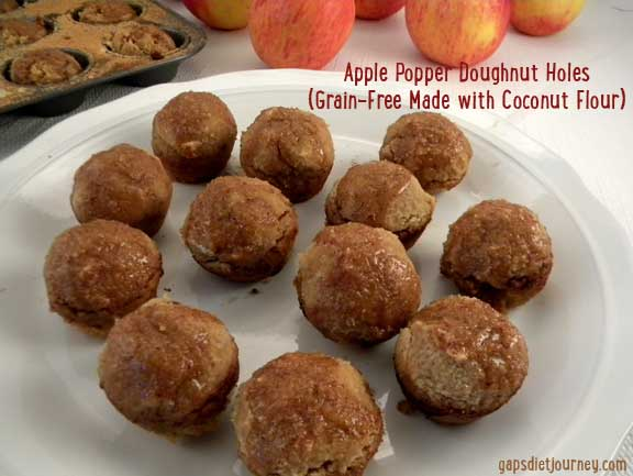 Apple Poppers Doughnut Holes
