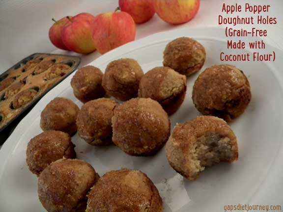 Grain-Free Apple Poppers