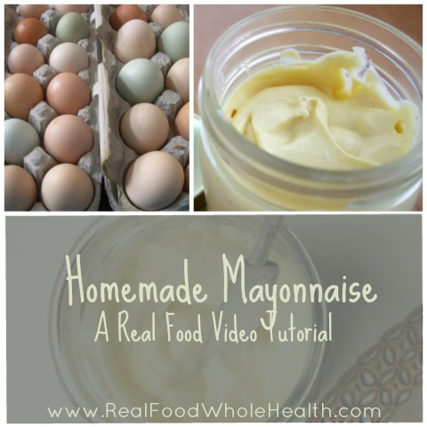 Real Food Whole Health Mayonnaise Video