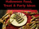 Halloween Snack and Party Food Ideas