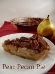 Pear Pecan Pie