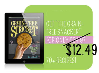 Ditch the Wheat Grain-Free Snacker