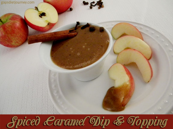Spiced Caramel Dip & Topping