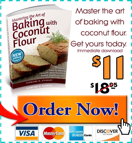 Mastering the Art of Baking with Coconut Flour is on sale for a limited time only!