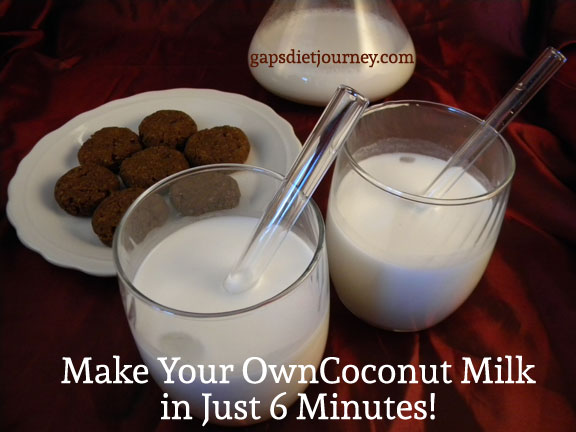 Make Your Own Coconut Milk in Just 6 Minutes!