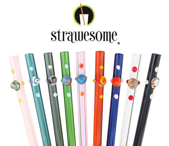 Strawesome Glass Straws