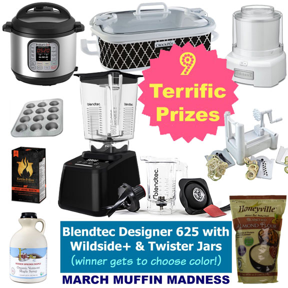 March Muffin Madness Prizes