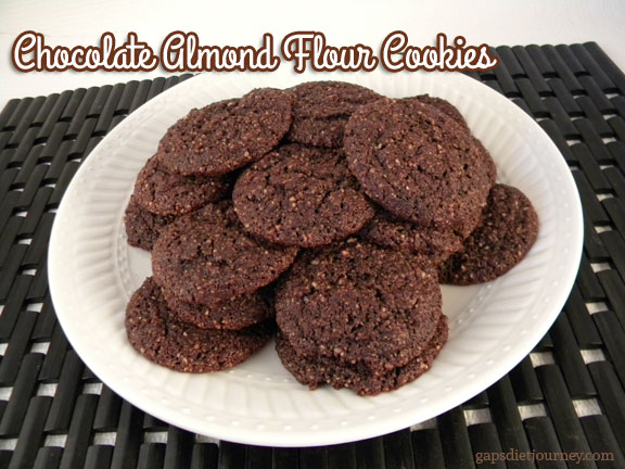 Chocolate Almond Flour Cookies
