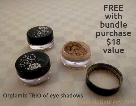 Orglamix TRIO Eye Shadows