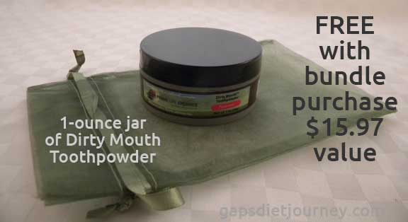 Dirty Mouth Toothpowder
