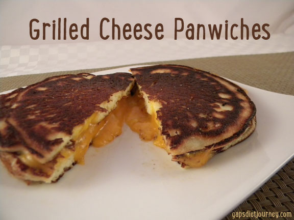 Grilled Cheese using Pancakes