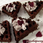 Chocolate Heart Waffles