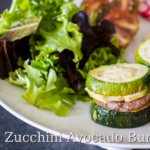 Mini Zucchini Avocado Burgers